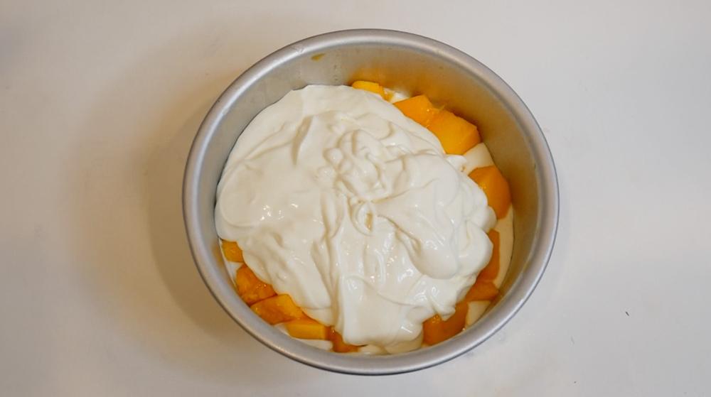 用冰箱做蛋糕-芒果起司蛋糕-免烤蛋糕教學13.jpg