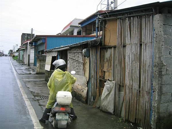 民治社區-各式建築材質與形體濃縮在短短的一條街上展現