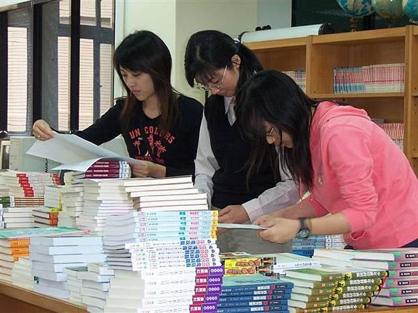 班級書庫--編完書目,便能發到各班
