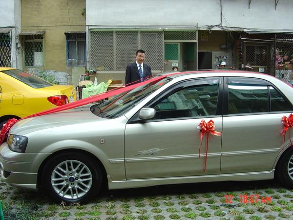 新郎新娘禮車。
