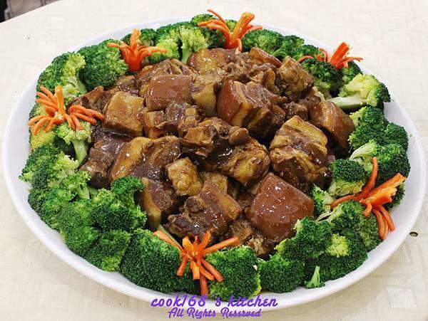 示範菜色_東坡肉.JPG
