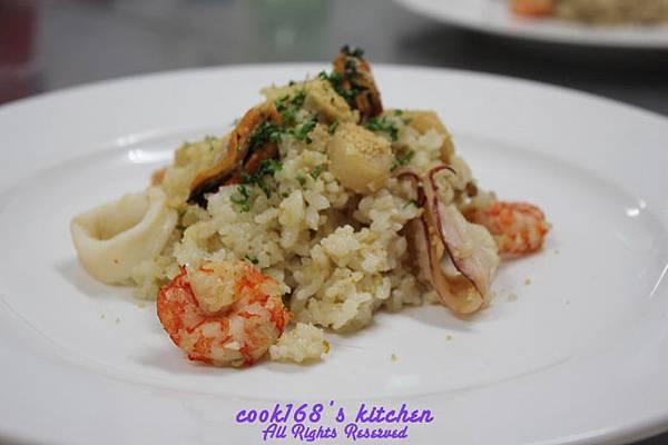 303D4義式海鮮飯Seafood risotto.JPG