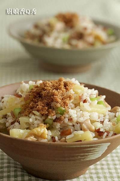 鳳梨雞丁炒飯3