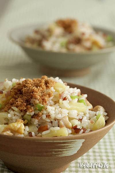 鳳梨雞丁炒飯2