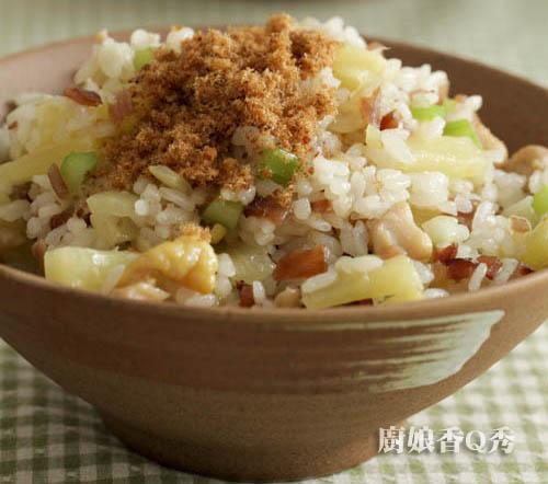 鳳梨雞丁炒飯4