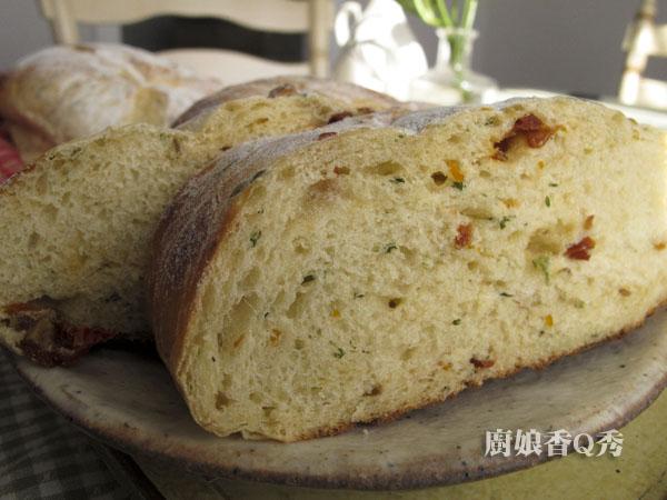 義大利風乾番茄乾麵包