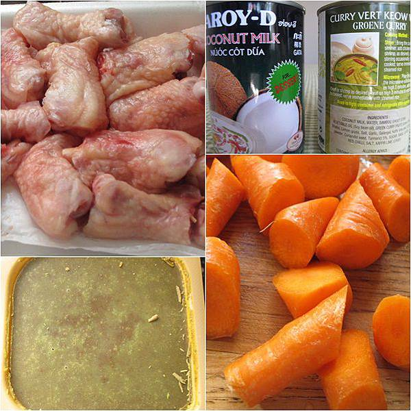 泰式咖哩雞