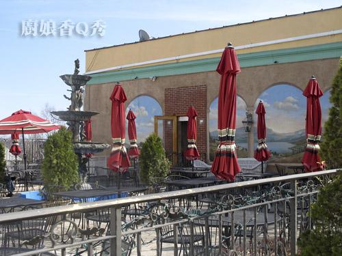 臨哈德遜河畔的典雅餐廳