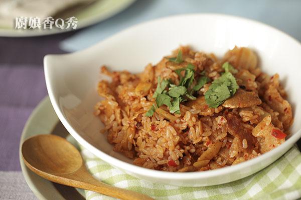 韓式泡菜炒飯_4