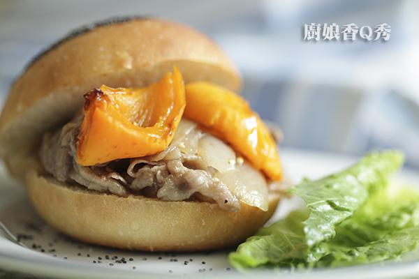 罌粟籽漢堡