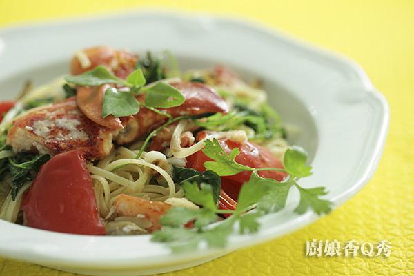 蟹肉義大利麵_4