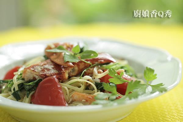 蟹肉義大利麵_3
