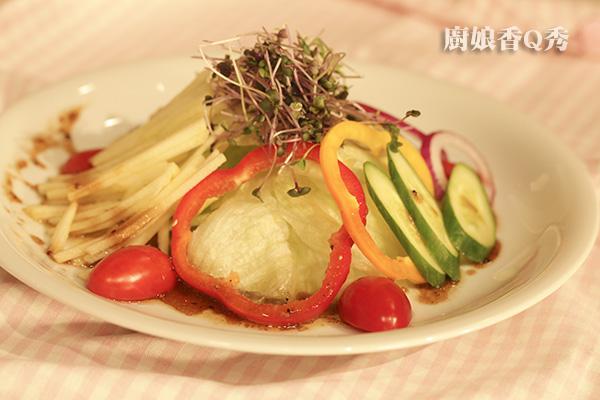 生菜義大利黑醋沙拉