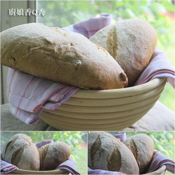 無花果裸麥麵包