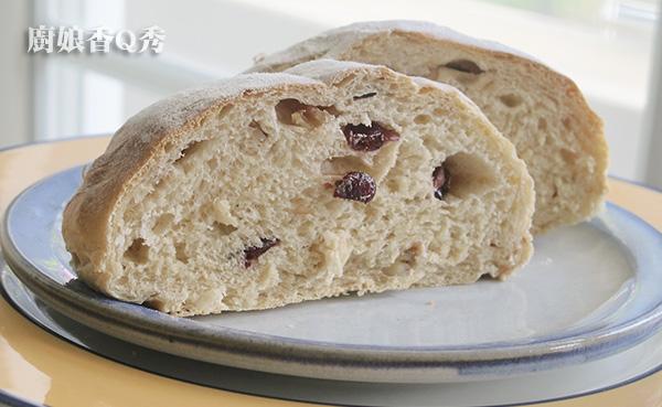 蔓越莓裸麥核桃麵包_6