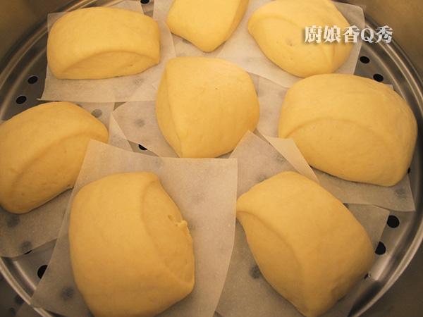 南瓜牛奶饅頭
