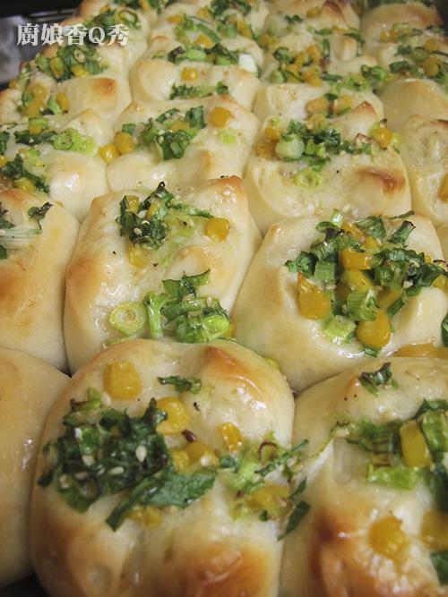 湯種台式蔥花麵包_3