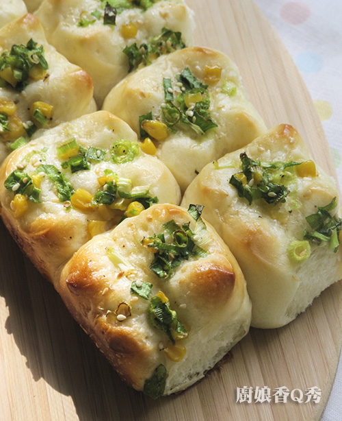 湯種台式蔥花麵包