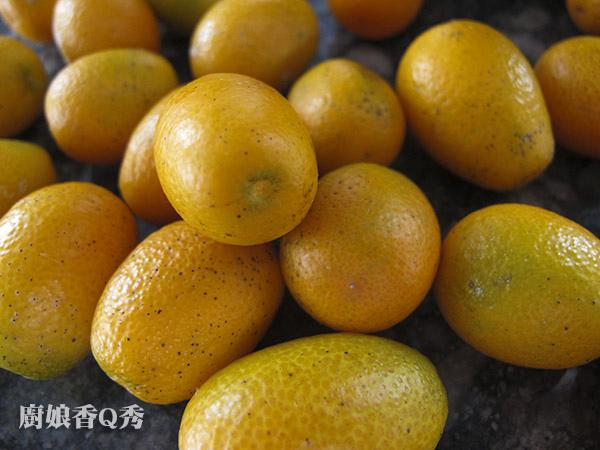 金桔天然酵母_材料1