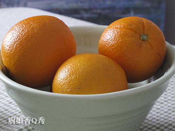 蜜漬柳橙皮_材料