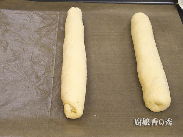 培根乳酪麥穗麵包_做法3