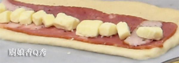 培根乳酪麥穗麵包