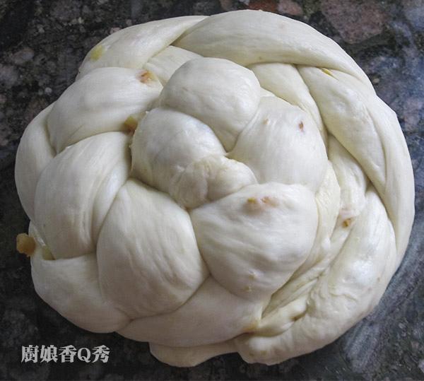 中種藤籃玫瑰花型麵包_做法8-1