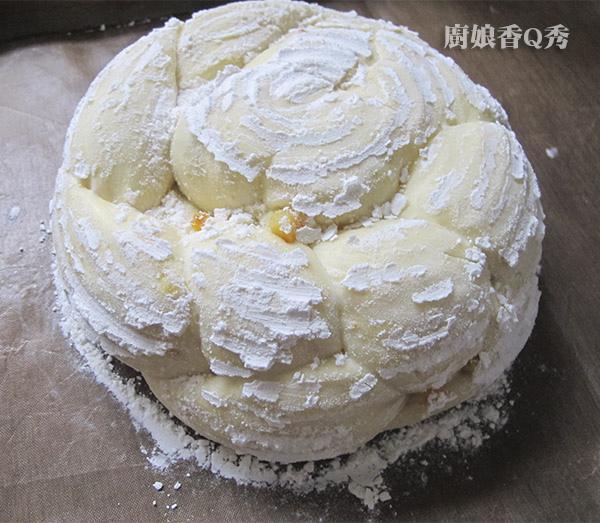 中種藤籃玫瑰花型麵包_作法9-1