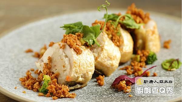 風味鮮魚卷佐台式炒豆酥 魚漿完美口感