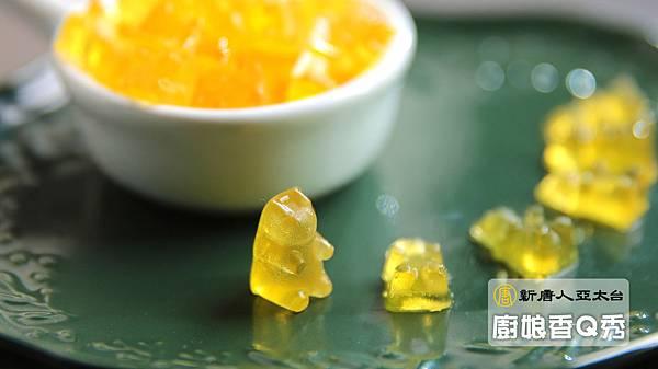 口味酸甜的小熊QQ軟糖1拷貝1