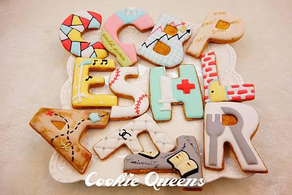 Cookie Queens餅乾皇后糖霜抓周餅乾