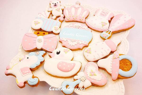 收涎餅乾_餅乾皇后_icing cookie queens_寶貝甜心02.jpg