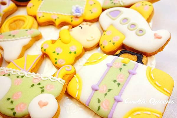 餅乾皇后_收涎餅乾sugar cookie rose 1