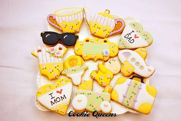餅乾皇后_收涎餅乾sugar cookie rose 2