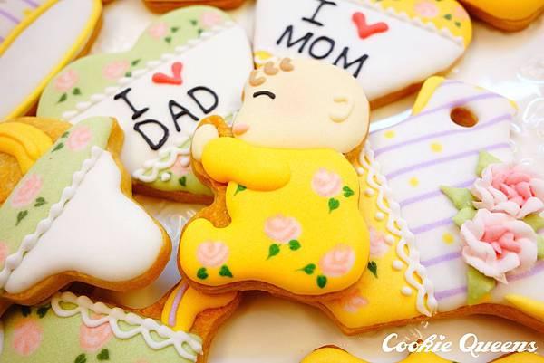 餅乾皇后_收涎餅乾sugar cookie rose 3