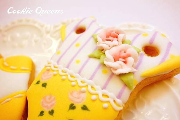 餅乾皇后_收涎餅乾sugar cookie rose 7