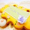 餅乾皇后_收涎餅乾sugar cookie rose 8