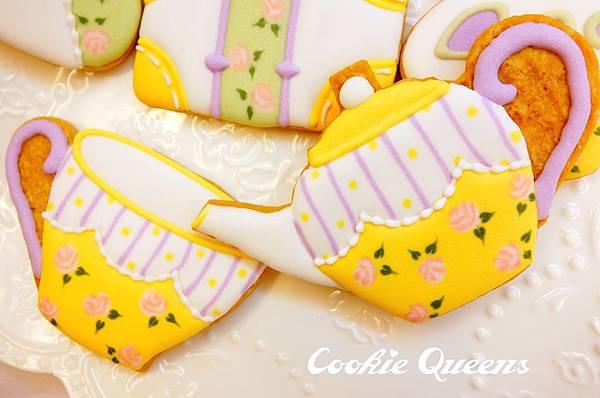餅乾皇后_收涎餅乾sugar cookie rose 9