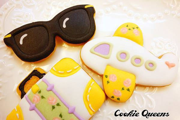 餅乾皇后_收涎餅乾sugar cookie rose 10