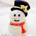 糖霜餅乾Xmas雪人