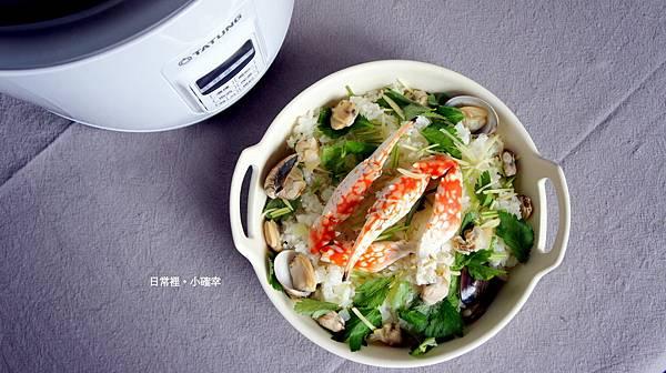 冬瓜蛤蠣蟹肉炊飯