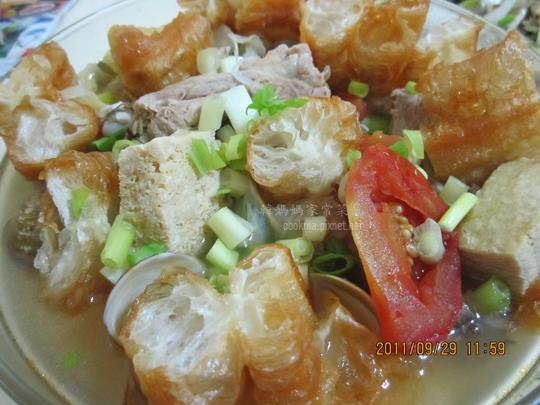 豆腐排骨湯