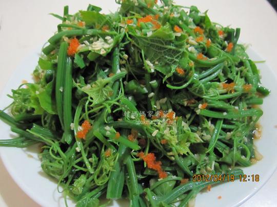 龍鬚菜涼拌