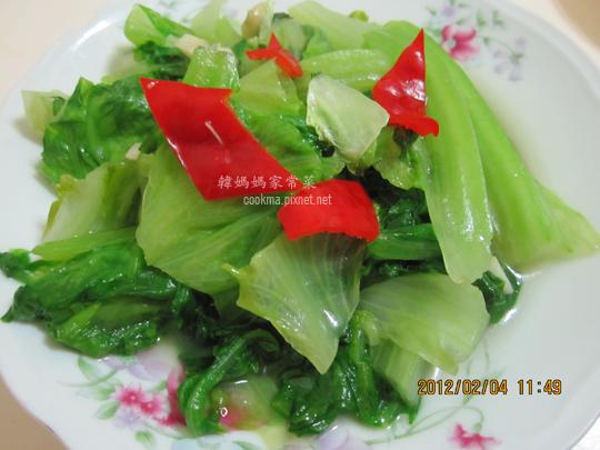 炒中國萵苣
