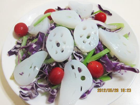 紫高麗生菜沙拉