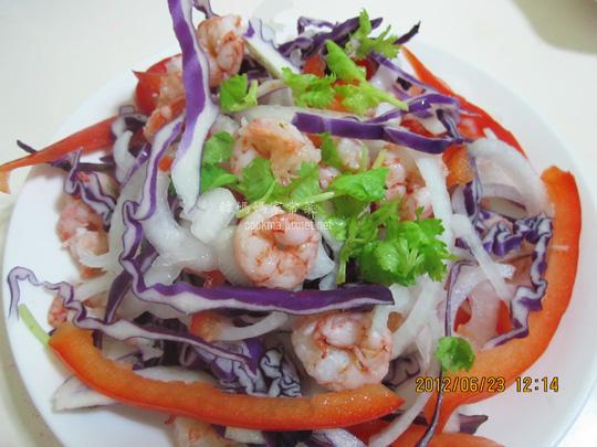 蝦仁生菜沙拉