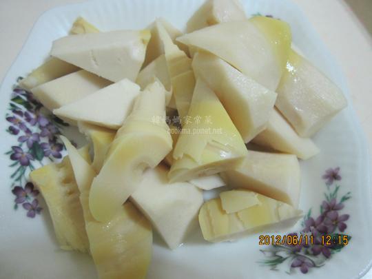 綠竹筍沙拉