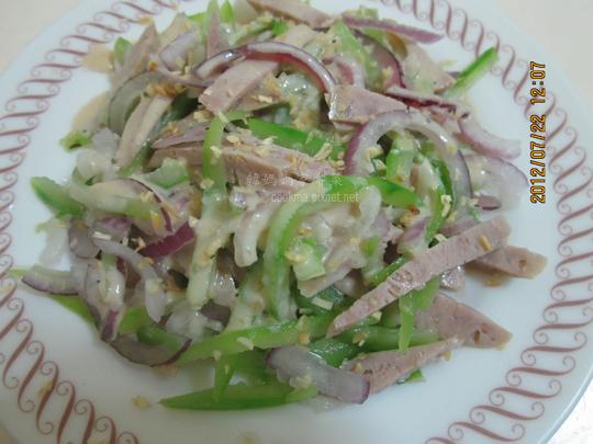 德式香腸洋蔥生菜沙拉