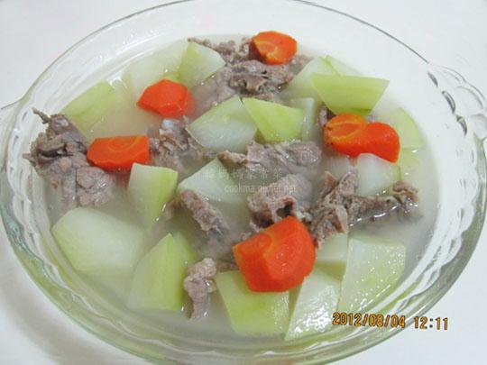 青木瓜燉排骨