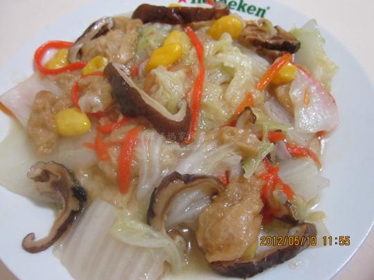 白果燜香菇